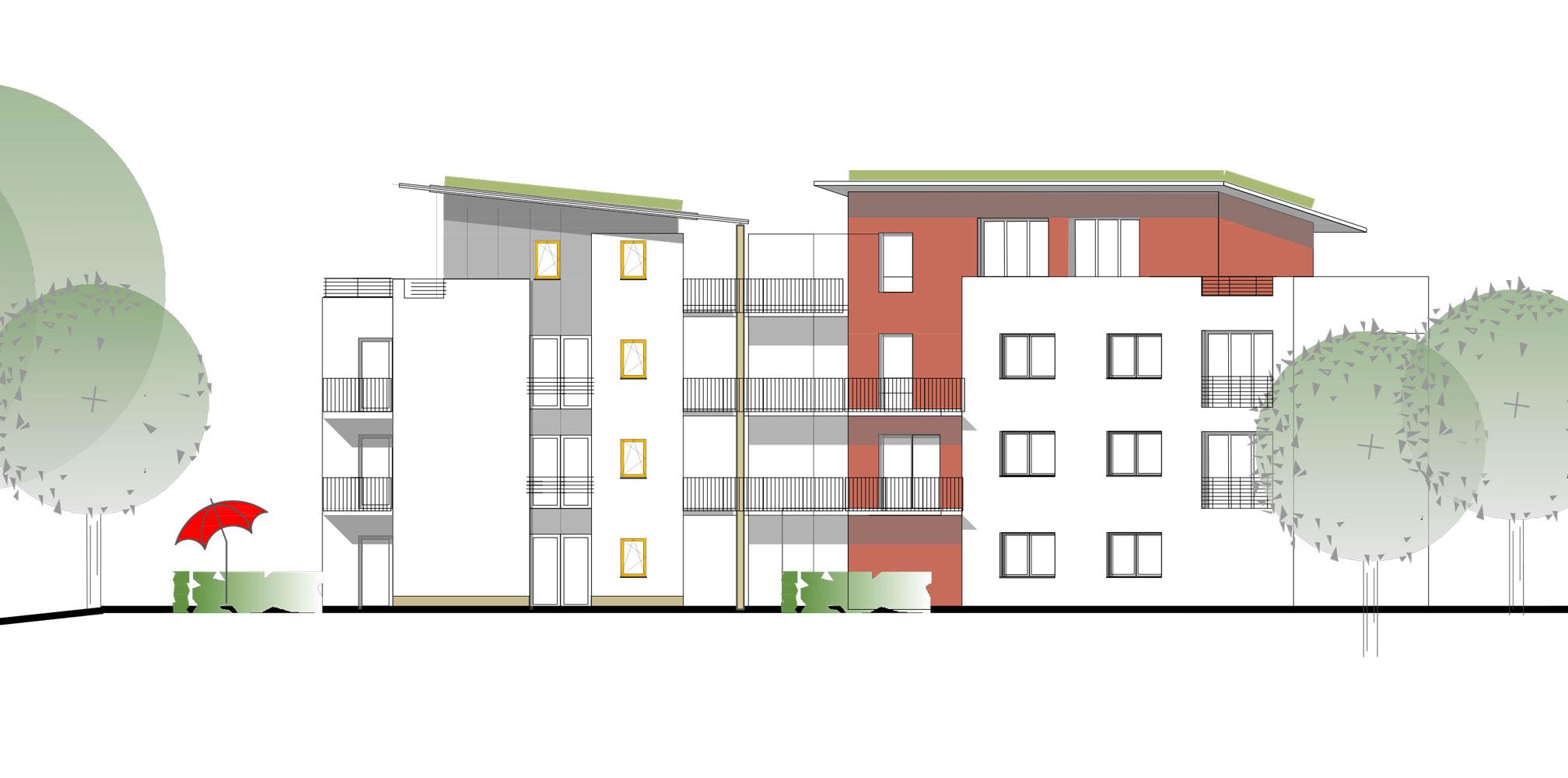 Wohnprojekt am Lennhofe Dortmund-Menglinghausen, Planquadrat Dortmund