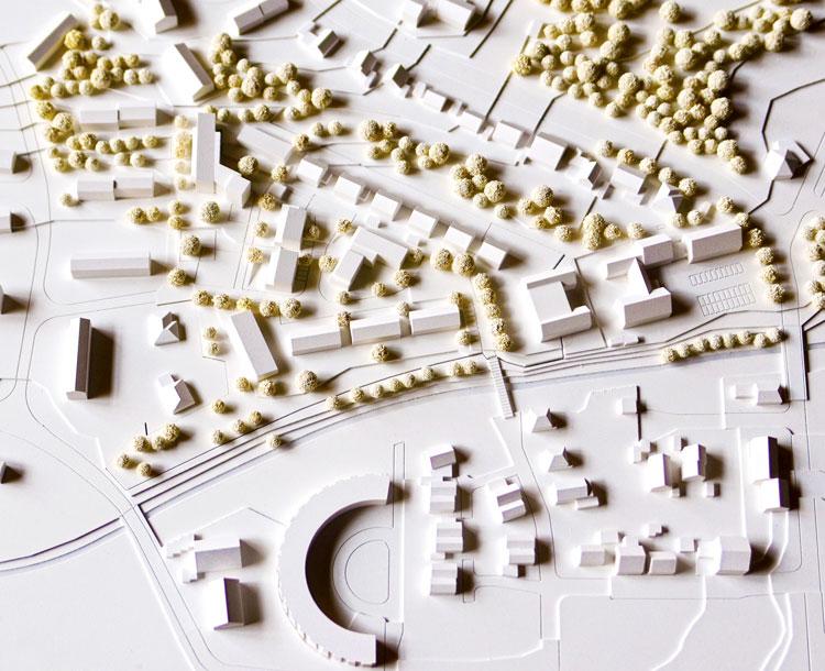 Modell Wohngebiet am Lennhofe Dortmund Menglinghausen