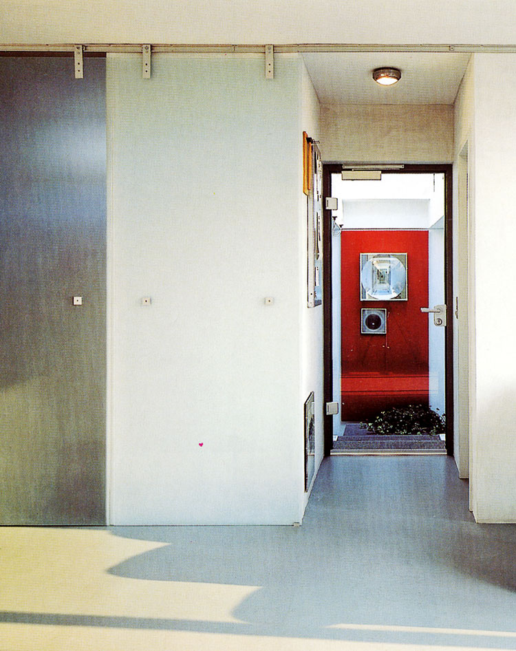 Eingang Container Penthouse Planquadrat Dortmund