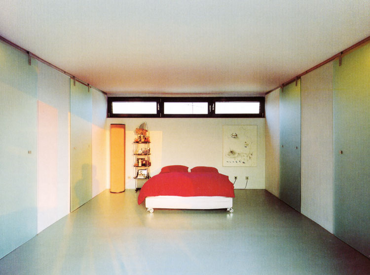 Schlafzimmer Container Penthouse Planquadrat Dortmund