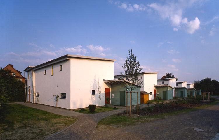 Ansicht 02 Siedlung Fürst Hardenberg Dortmund-Lindenhorst Planquadrat Dortmund