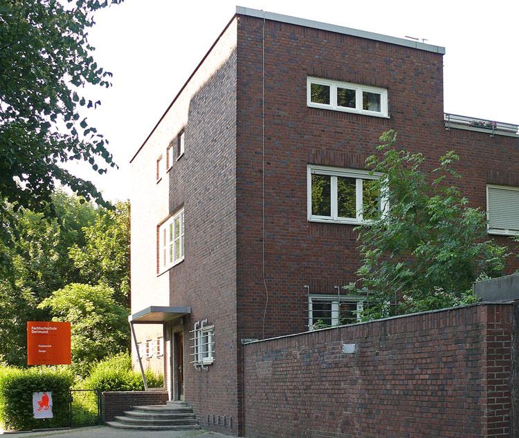 Eingang Machbarkeitsstudie, Konzeption und Finanzierung für eine Kita der FH Dortmund Planquadrat