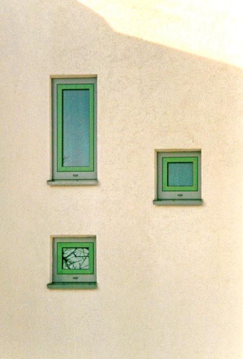 Fenster Neubau der Kindertagesstätte - Am Kurpark - Bad Lauchstädt - Planquadrat Dortmund