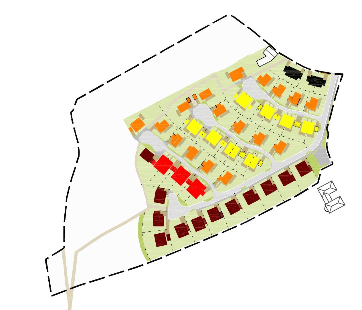 Gebäudetypen Wohnbebauung Scheitensberg Castrop-Rauxel Planquadrat Dortmund