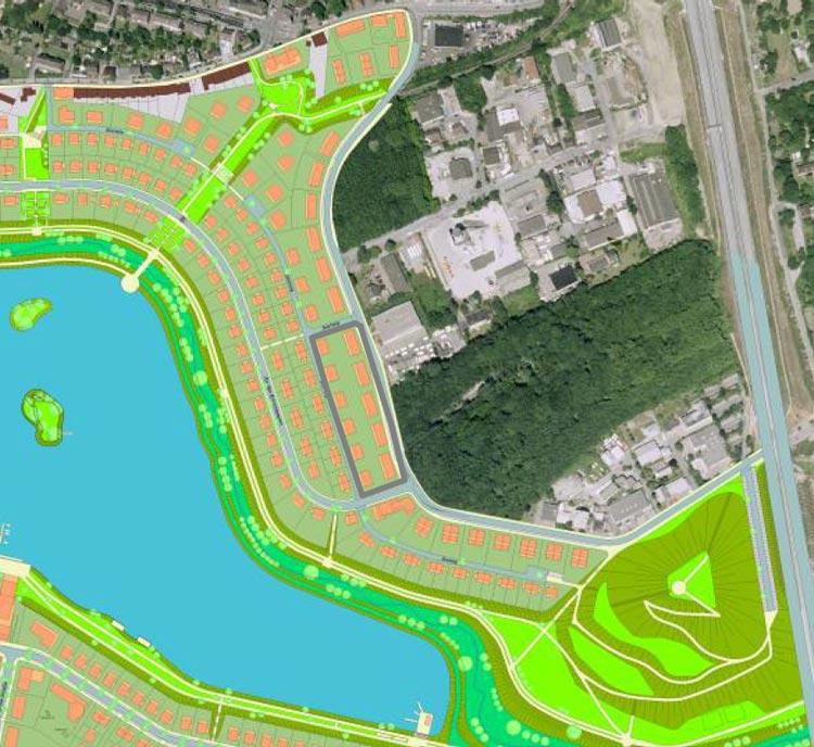 PHOENIX See Dortmund Seehang Rahmenplan Planquadrat
