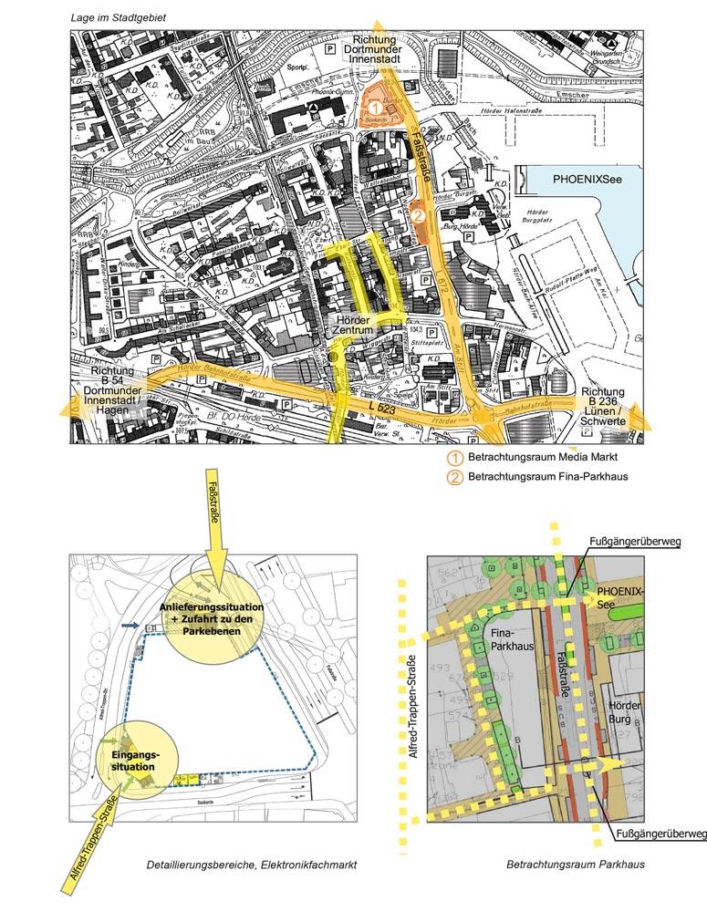 Qualifizierungsverfahren Elektrofachmarkt Dortmund Planquadrat Dortmund