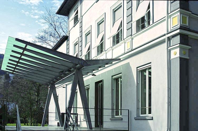 Ansicht 04 Umbau Gründerzeitvilla zum Kommunikationszentrum ThyssenKrupp VDM GmbH Werdohl Planquadrat