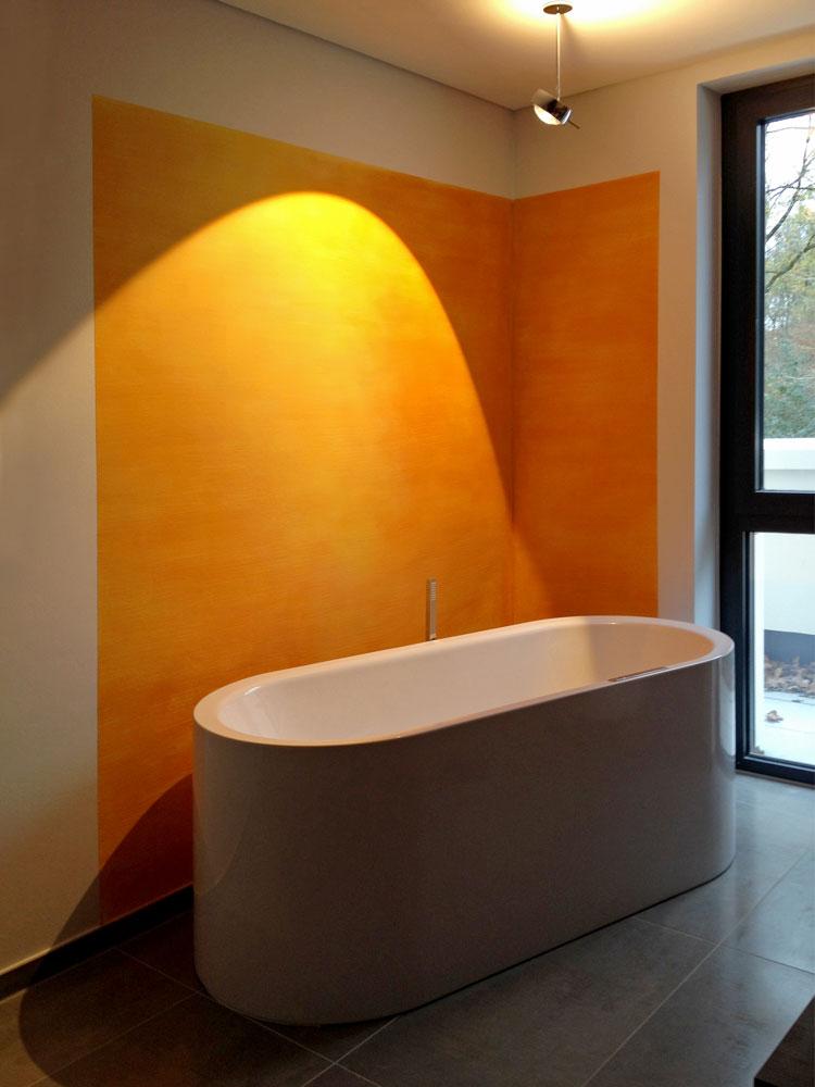 Bad 01 Innengestaltung einer Penthouse-Wohnung Olpketalstraße Dortmund Planquadrat