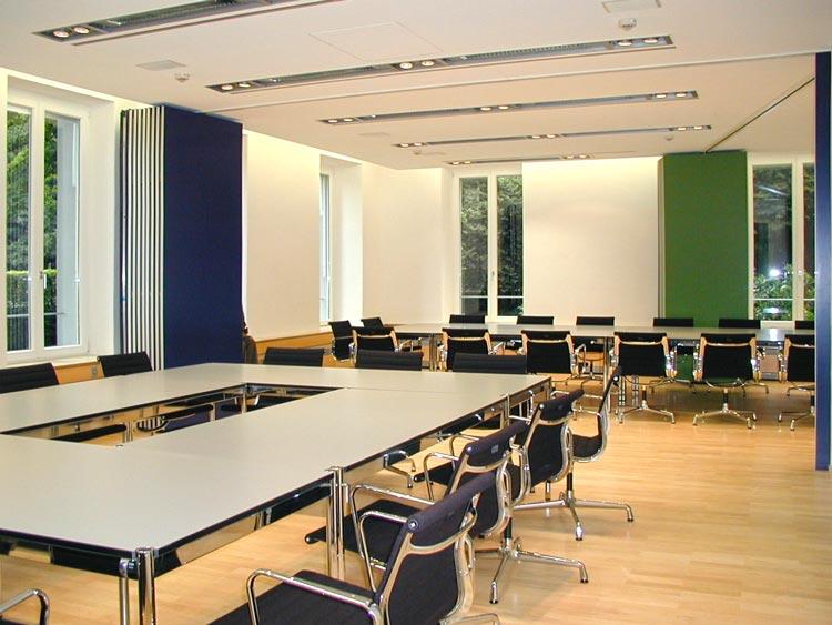 Büros 01 Umbau Gründerzeitvilla zum Kommunikationszentrum ThyssenKrupp VDM GmbH Werdohl Planquadrat