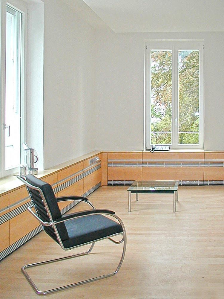Büros 02 Umbau Gründerzeitvilla zum Kommunikationszentrum ThyssenKrupp VDM GmbH Werdohl Planquadrat