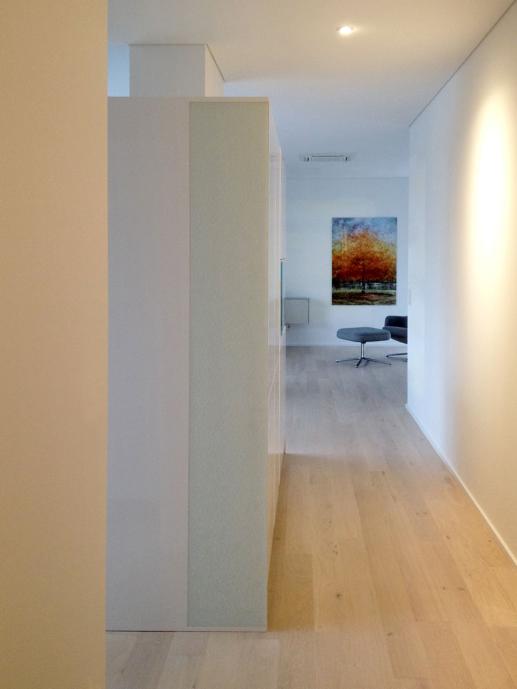 Detail 02 Innengestaltung einer Penthouse-Wohnung Olpketalstraße Dortmund Planquadrat