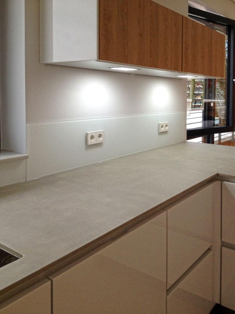 Küche 02 Innengestaltung einer Penthouse-Wohnung Olpketalstraße Dortmund Planquadrat