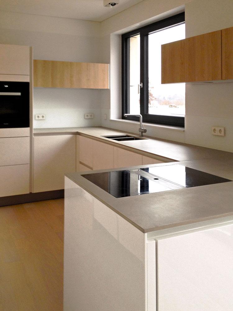 Küche 03 Innengestaltung einer Penthouse-Wohnung Olpketalstraße Dortmund Planquadrat