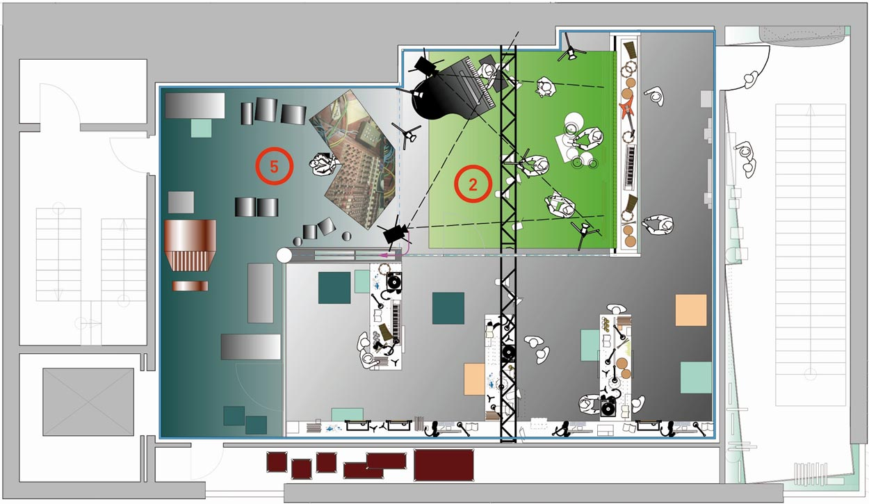 rock'n'popmuseum Gronau Wettbewerbsbetreuung CAN 02 Planquadrat