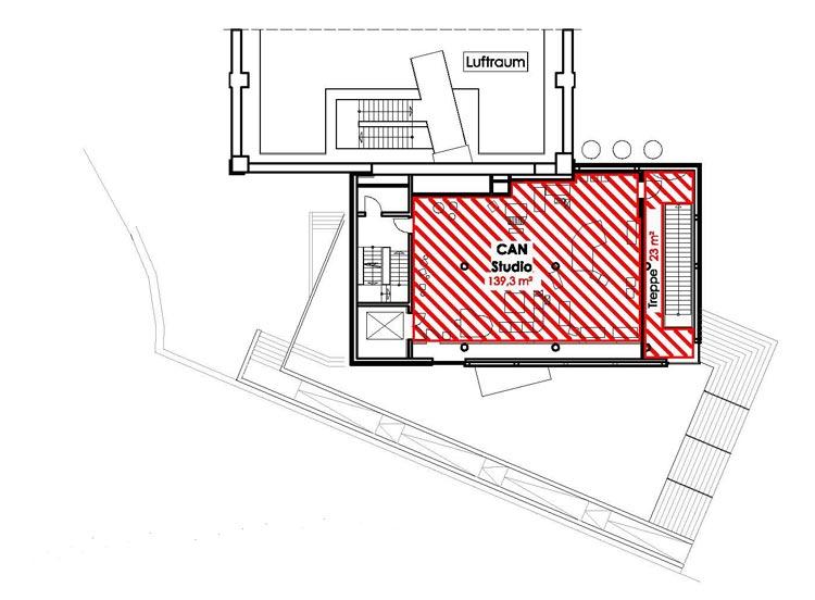 rock'n'popmuseum Gronau Wettbewerbsbetreuung Übersichtsplan 01 Planquadrat