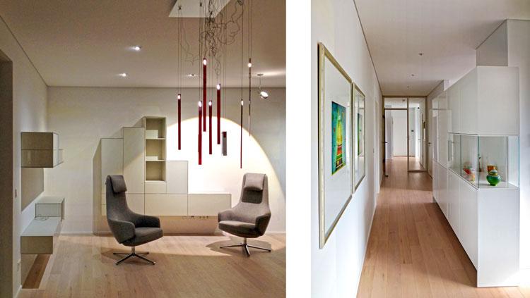 Teaserbild Innengestaltung einer Penthouse-Wohnung Olpketalstraße Dortmund Planquadrat