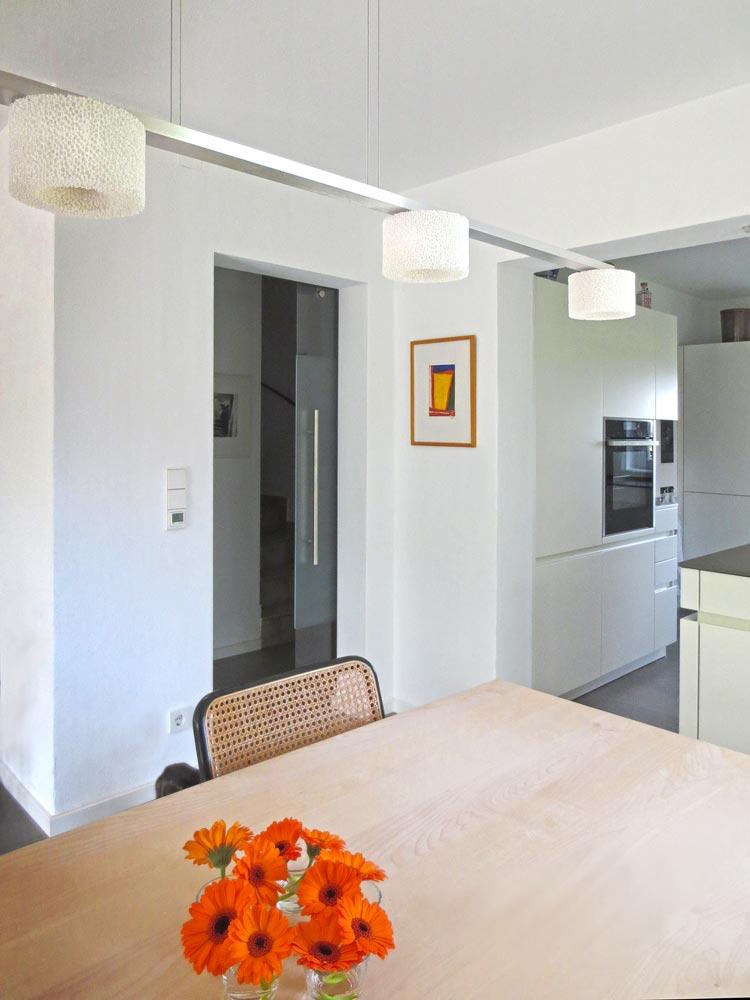 Esszimmer Küche Umbau Doppelhaus Raubling Oberbayern Planquadrat Dortmund