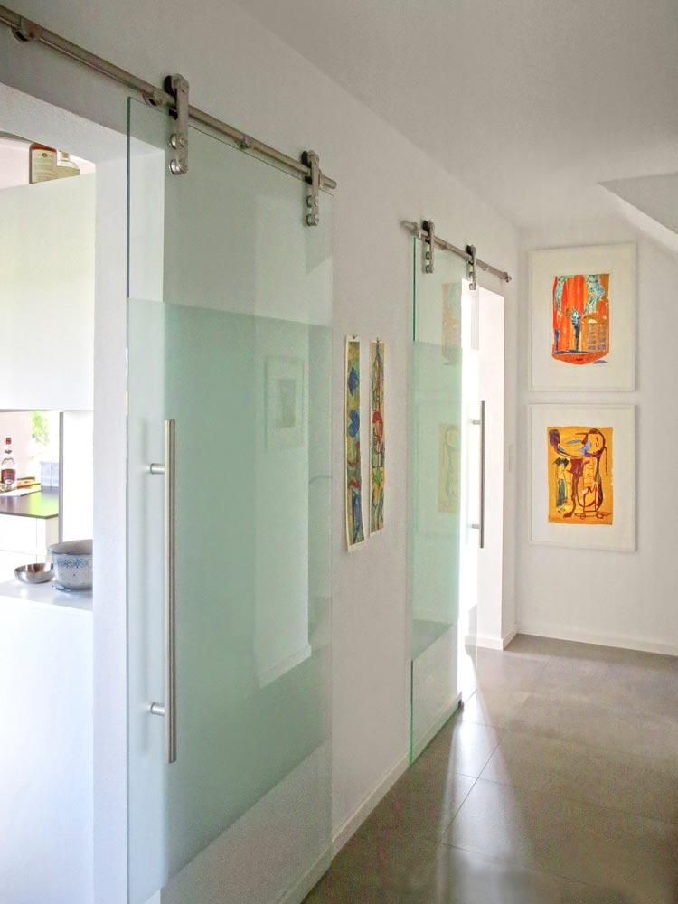 Flur Umbau Doppelhaus Raubling Oberbayern Planquadrat Dortmund