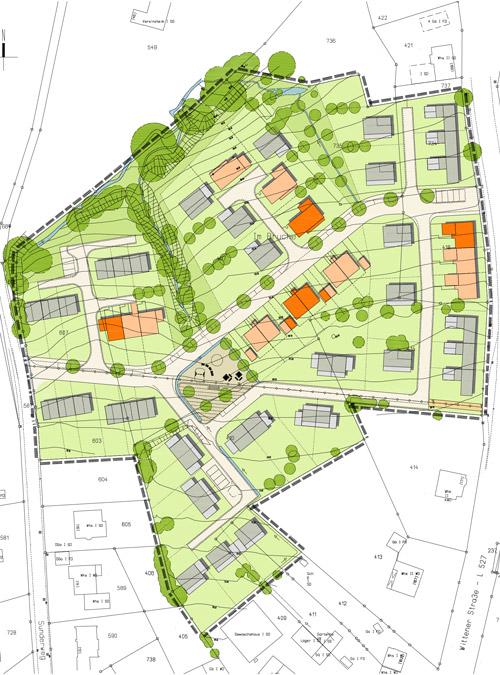 Teaserbild Wohngebiet Sunderweg Gevelsberg Qualifizierungsverfahren für Wohnbebauung Planquadrat Dortmund