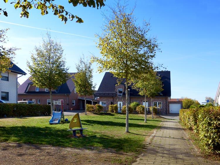 Ansicht 04 Wohnbebauung Feldstraße/Hahnenbergstraße – Herten-Langenbochum Planquadrat Dortmund