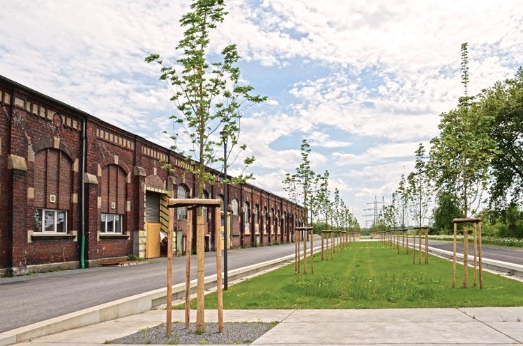 Corso Kreativ Quartier Lohberg Bauen im Zentral und Gewerbecluster Dinslaken Planquadrat Dortmund