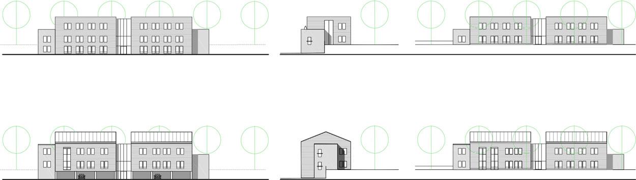 Fassadengestaltung Kreativ Quartier Lohberg Bauen im Zentral und Gewerbecluster Dinslaken Planquadrat Dortmund