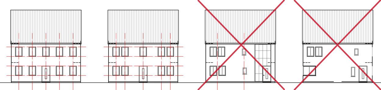 Fassadengliederung Stadt Sendenhorst – Gestaltungssatzung für den historischen Grabenring und Stadtkern Planquadrat Dortmund