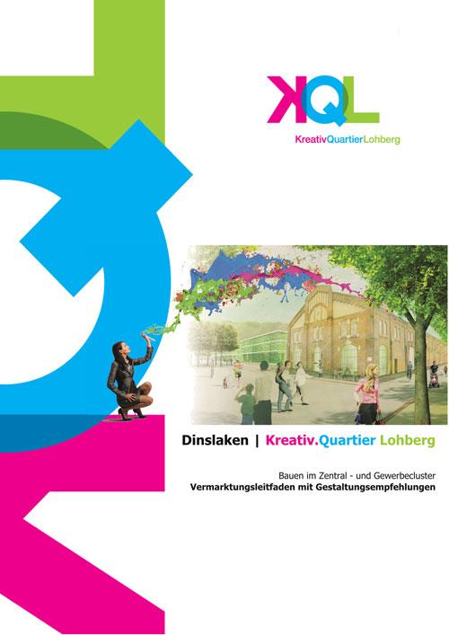 Handbuch Deckblatt Kreativ Quartier Lohberg Bauen im Zentral und Gewerbecluster Dinslaken Planquadrat Dortmund