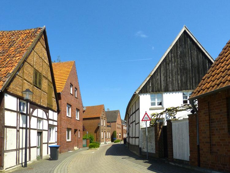 Nordgraben Stadt Sendenhorst – Gestaltungssatzung für den historischen Grabenring und Stadtkern Planquadrat Dortmund
