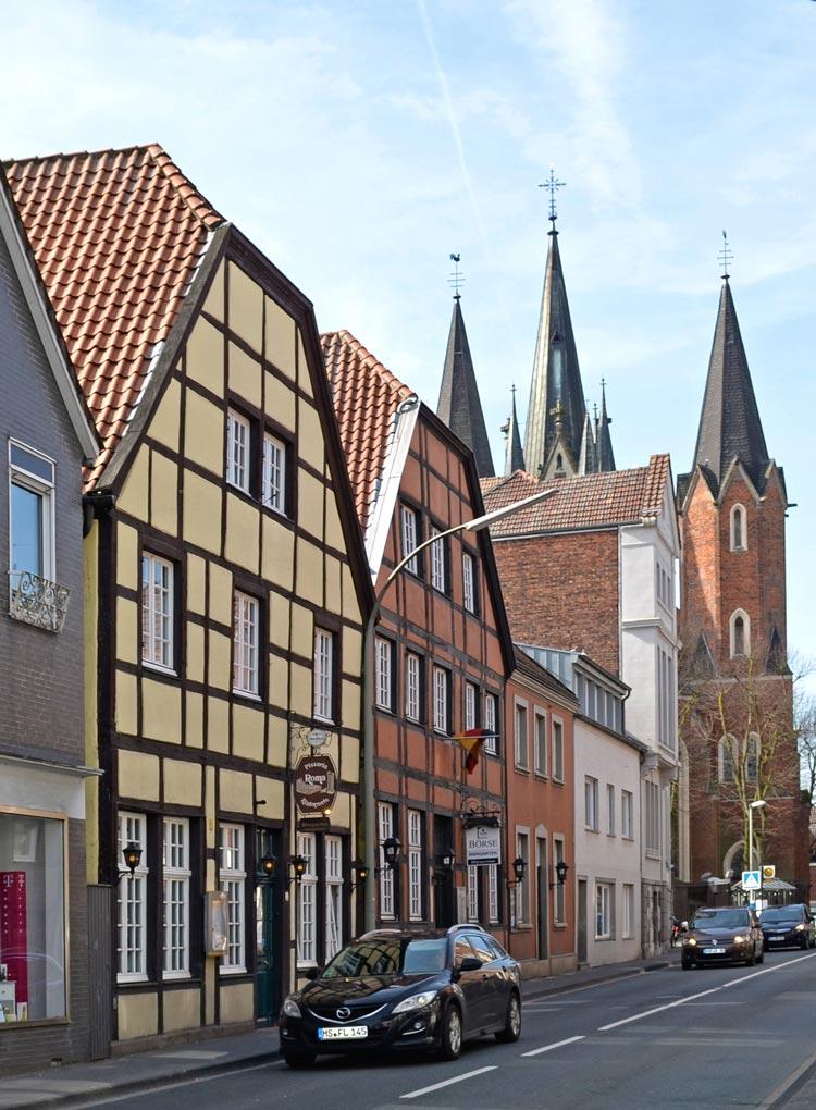 Oststraße Stadt Sendenhorst – Gestaltungssatzung für den historischen Grabenring und Stadtkern Planquadrat Dortmund