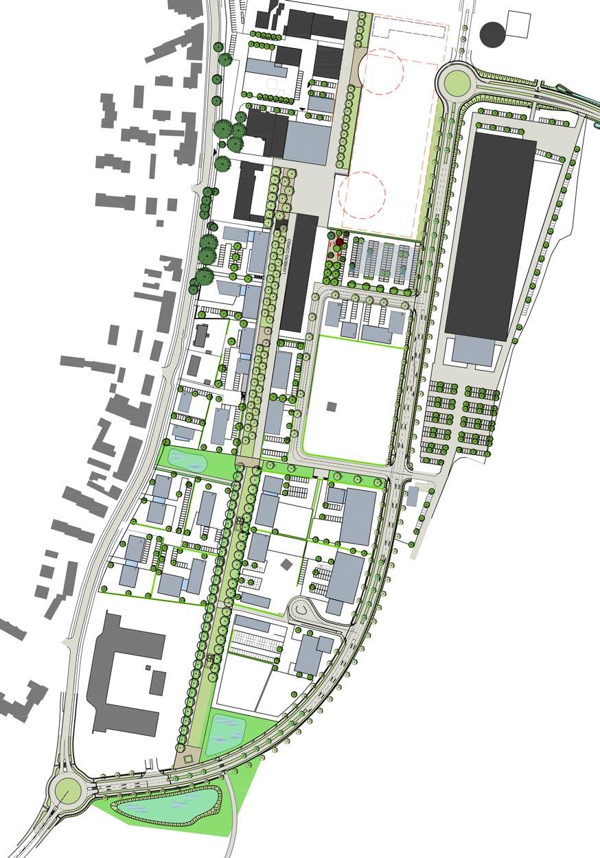 Rahmenplan Kreativ Quartier Lohberg Bauen im Zentral und Gewerbecluster Dinslaken Planquadrat Dortmund