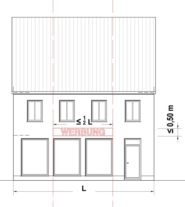 Werbung Stadt Sendenhorst – Gestaltungssatzung für den historischen Grabenring und Stadtkern Planquadrat Dortmund