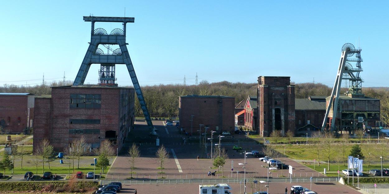 Ansicht P1040366 Bebauungsplan Stadtquartier Projekt-Ewald Herten Planquadrat Dortmund