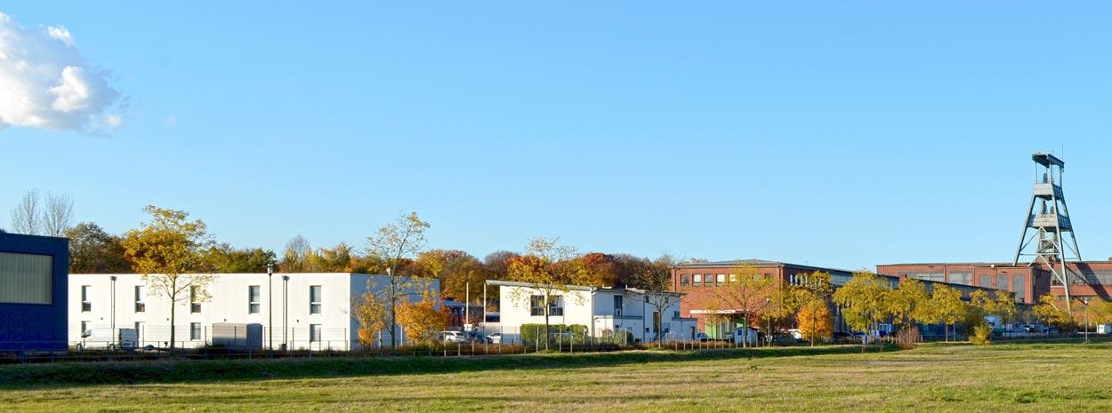 Ansicht DSC0612b Bebauungsplan Stadtquartier Projekt-Ewald Herten Planquadrat Dortmund