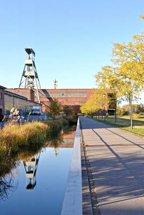 Wasserband Bebauungsplan Stadtquartier Projekt-Ewald Herten Planquadrat Dortmund