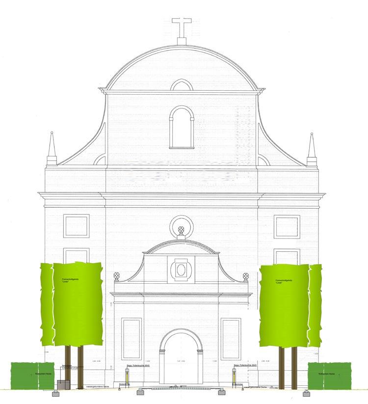Detailplan Ausschnitt Ausführungskonzept Bauleitung Dorferneuerung Zwillbrock Stadt Vreden Planquadrat Dortmund