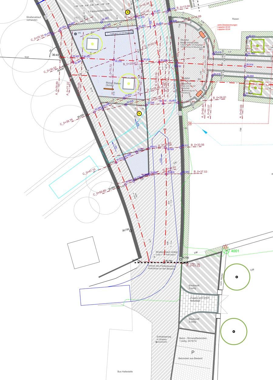 Lageplan Ausführungskonzept Bauleitung Dorferneuerung Zwillbrock Stadt Vreden Planquadrat Dortmund