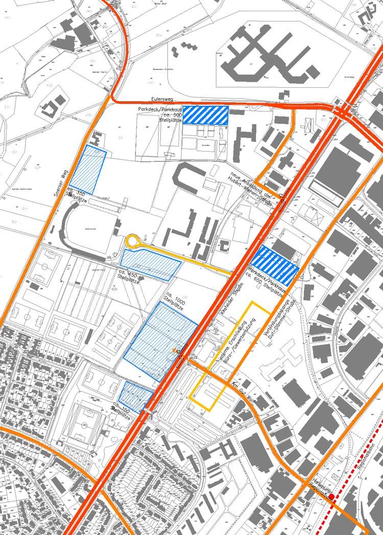 Erschließung Städtebaulicher Rahmenplan Krefelder Straße, Aachen - Planquadrat Dortmund