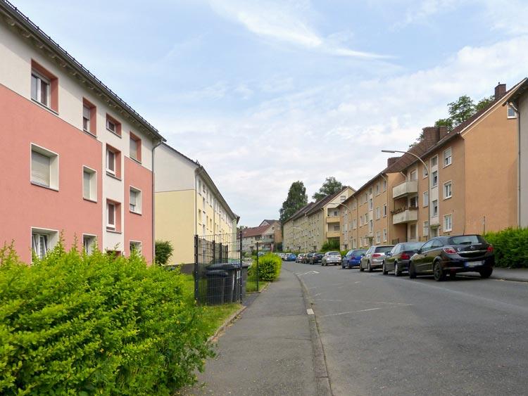 Hermannstraße Quartiersentwicklungsplan Unterkrone, Im Mühlenwinkel, Hermannstraße, Witten - Planquadrat Dortmund