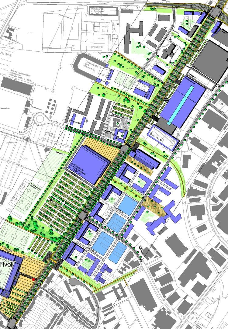 Konzept Städtebaulicher Rahmenplan Krefelder Straße, Aachen - Planquadrat Dortmund