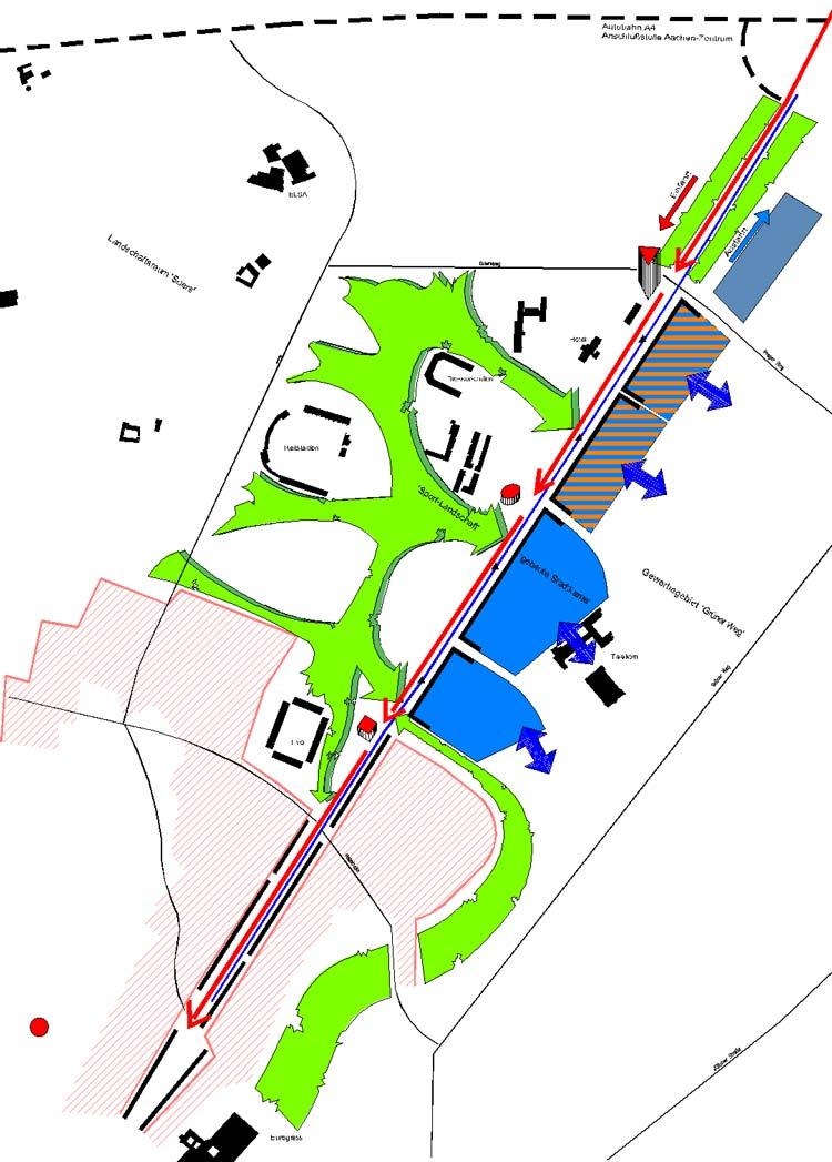 Leitbild Städtebaulicher Rahmenplan Krefelder Straße, Aachen - Planquadrat Dortmund