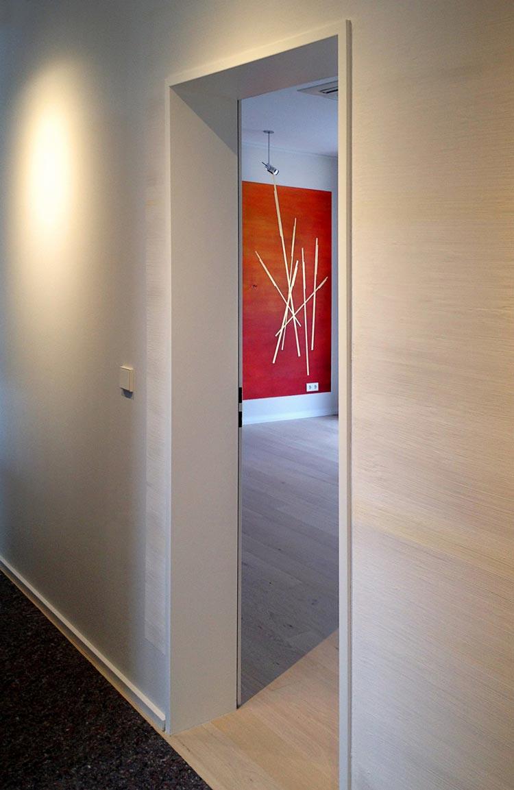 Abbildung 544-089-2k Wand- und Farbgestaltung einer Penthouse-Wohnung - Planquadrat Dortmund