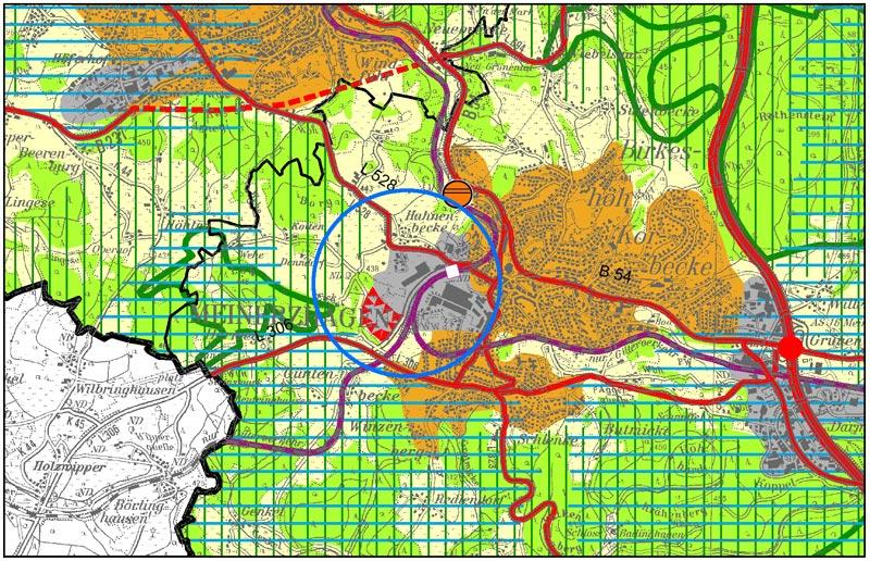 Aenderung Regionalplan Arnsberg planquadrat-dortmund