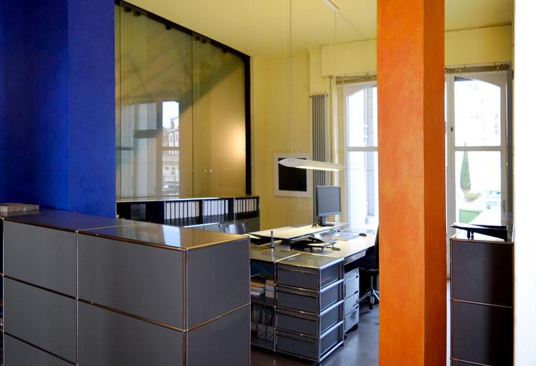 Abbildung DSC1250ak Umbau eines Wohn- und Geschäftshauses - Planquadrat Dortmund