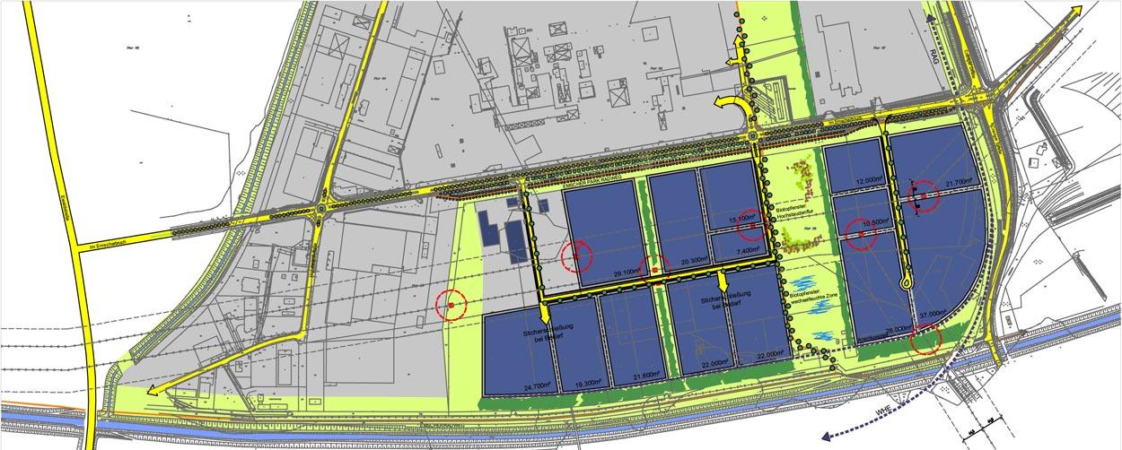 Entwicklungskonzept Industriegebiet Herten Sued planquadrat dortmund