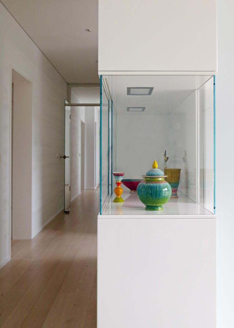 Abbildung 013ak Entwurf eines Glas-Vitrinenschranks - Planquadrat Dortmund