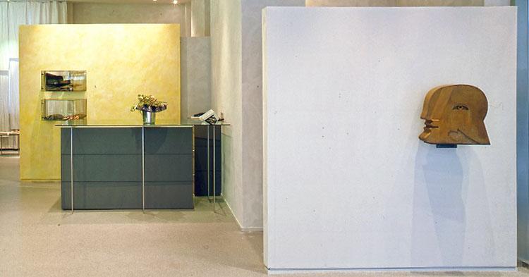 Ausschnitt Entwurf von Präsentationsmöbeln - Planquadrat Dortmund