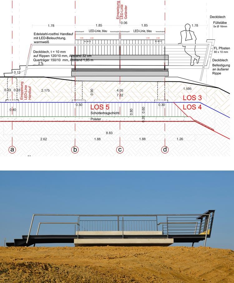 Aussichtspunkt Freiraumgestaltung Ehemalige Schachtanlage Schlägel & Eisen 3/4/7 Herten - Planquadrat Dortmund