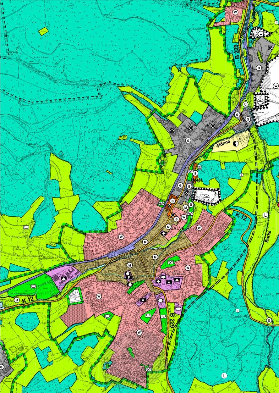 Balve Flächennutzungsplanung Planquadrat Dortmund