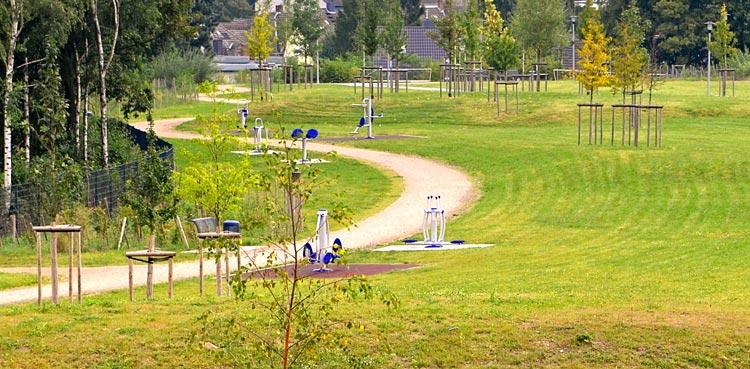 Bewegungsparcour Freiraumgestaltung Ehemalige Schachtanlage Schlägel & Eisen 3/4/7 Herten - Planquadrat Dortmund
